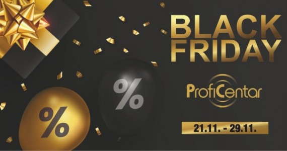 Black Friday na Profi Centru