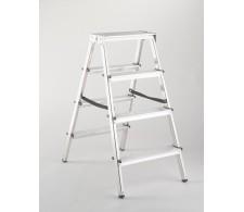 Dvostrane aluminijske kućne ljestve 33-04 4 stepenice