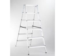 Dvostrane aluminijske kućne ljestve 33-06 6 stepenica