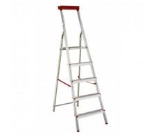 Aluminijske kućne ljestve sa postoljem za alat 32-05 5 stepenica