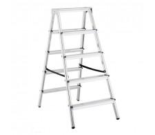 Dvostrane aluminijske kućne ljestve 33-05 5 stepenica